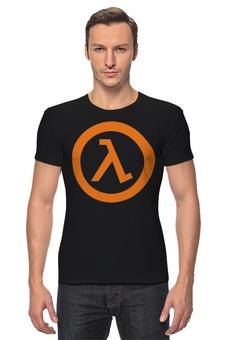"""Футболка Стрэйч (Мужская) """"Half Life"""" - games, компьютерные игры, valve, half life, action"""