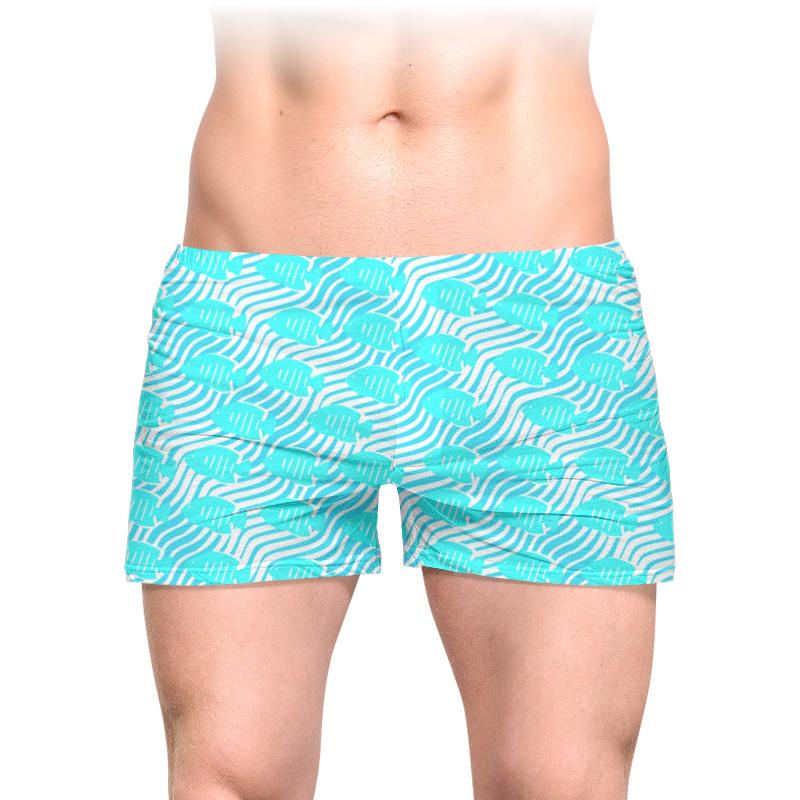Трусы мужские с полной запечаткой Printio Тропические рыбки футболка с полной запечаткой для мальчиков printio тропические рыбки
