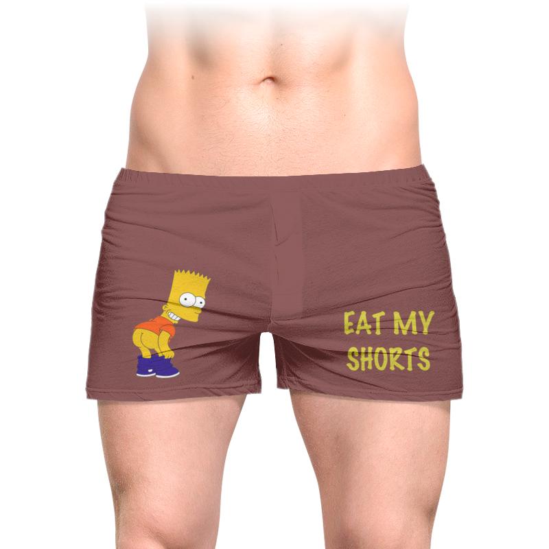 Трусы мужские с полной запечаткой Printio Съешь мои шорты