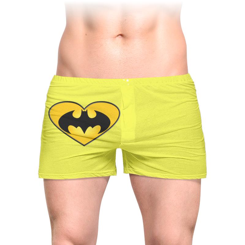 Трусы мужские с полной запечаткой Printio Бетмен толстовка с полной запечаткой printio бетмен
