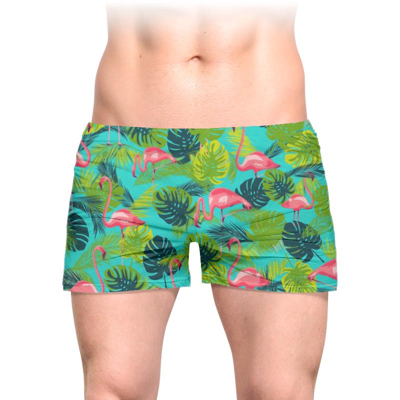 Трусы мужские с полной запечаткой Printio Розовый фламинго мужские трусы 03 0069 2015