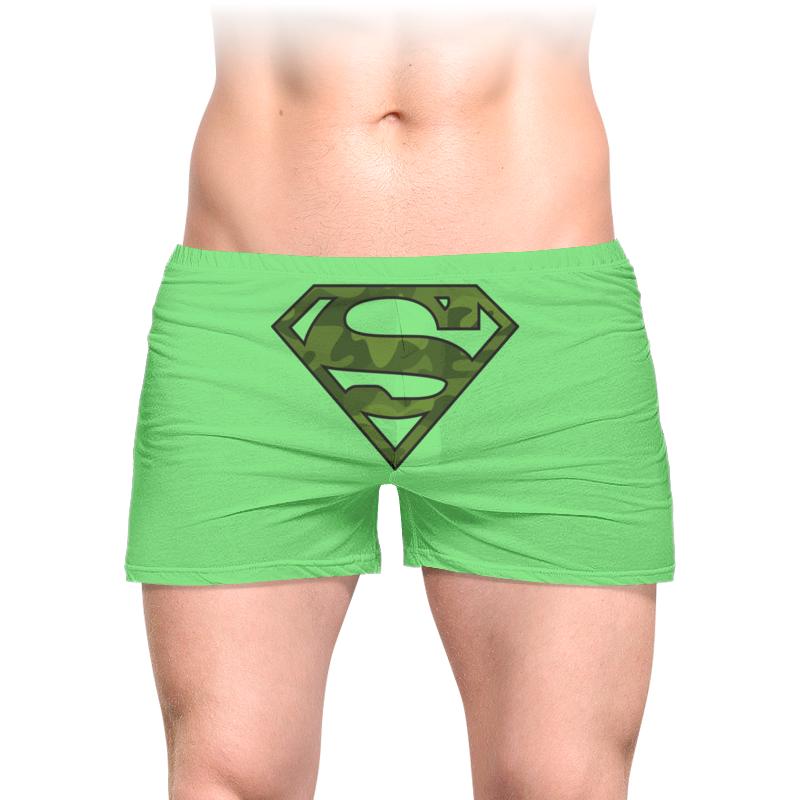 Трусы мужские с полной запечаткой Printio Военный супермен трусы мужские ярослав