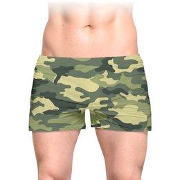 """Трусы мужские с полной запечаткой """"камуфляж"""" - 23 февраля, армия, военные, камуфляэ"""