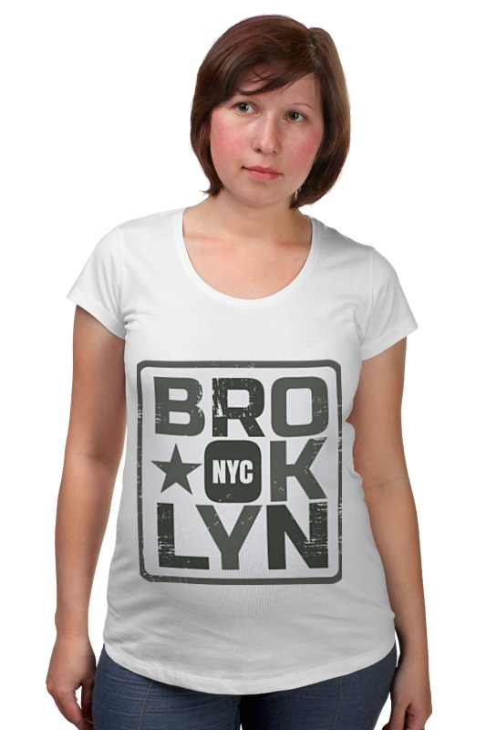 Футболка для беременных Printio Brooklyn сумка printio brooklyn