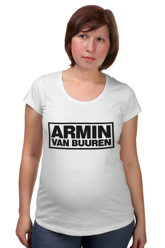 Футболка для беременных Printio Армин ван бюрен (armin van buuren) билеты armin van buuren спб