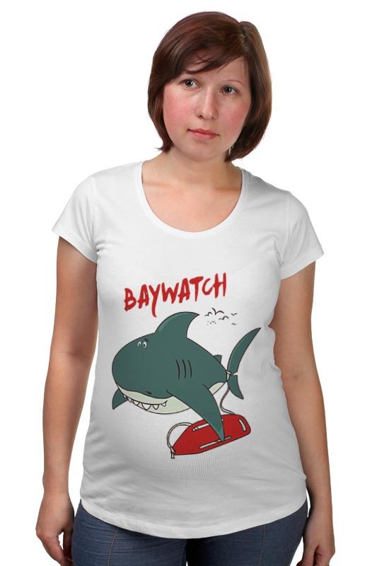 Футболка для беременных Printio Акула (baywatch) гербер кэтрин лос анджелес