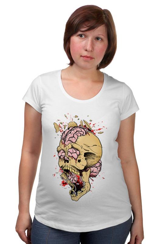 Футболка для беременных Printio Brain explosion футболка для беременных printio россия украина