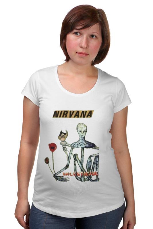 Футболка для беременных Printio Nirvana incesticide album t-shirt майка классическая printio nirvana incesticide album t shirt