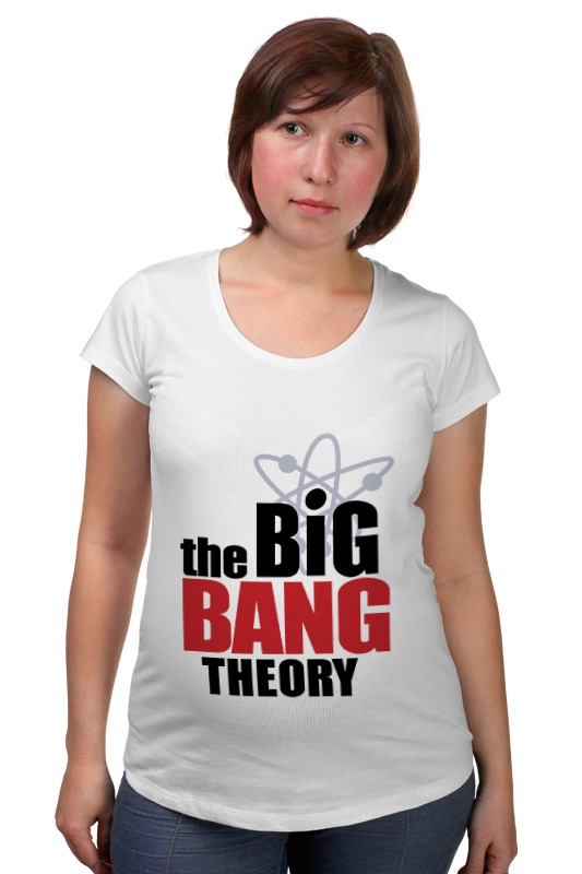 Футболка для беременных Printio The big bang theory the big bang theory series the flash design cotton t shirt red size m