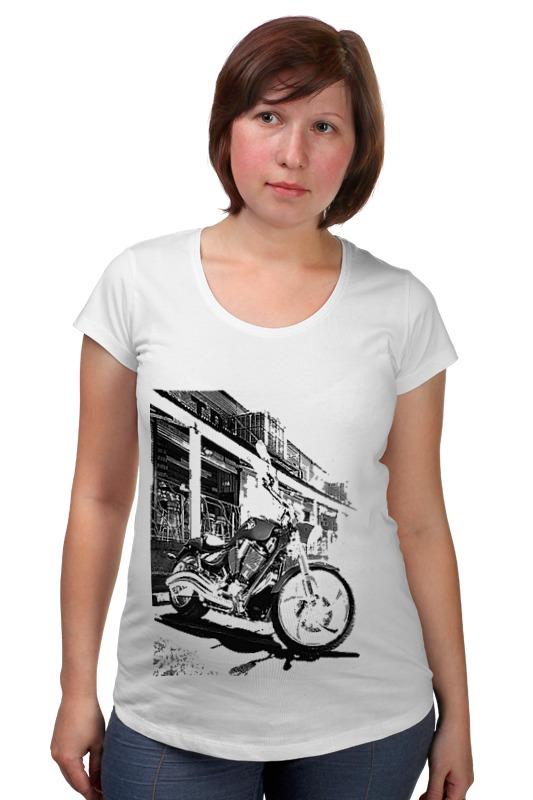 Футболка для беременных Printio Мотоциклы футболка стрэйч printio мотоциклы