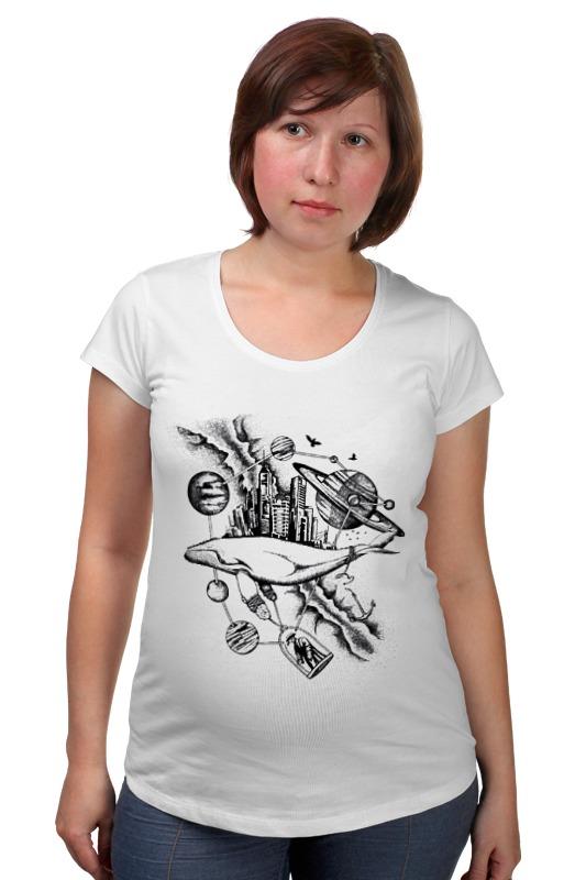 Футболка для беременных Printio The megapolis whale футболка для беременных printio кит ричардс
