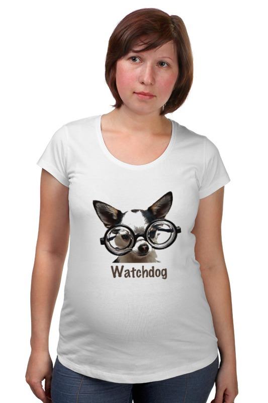 Футболка для беременных Printio Watchdog футболка для беременных printio игра слов