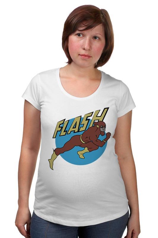 Футболка для беременных Printio Флэш. футболка для беременных printio гаррус вакариан