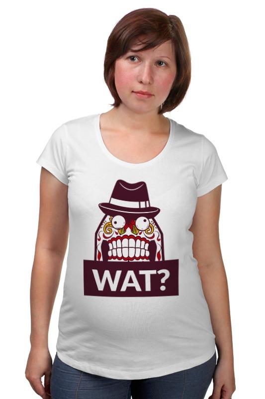 Футболка для беременных Printio Wat? футболка для беременных printio гаррус вакариан