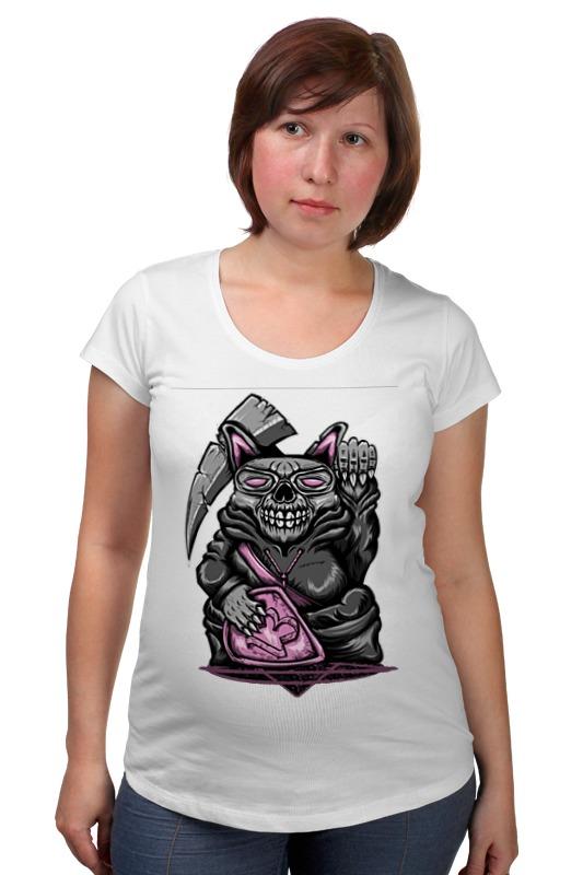 Футболка для беременных Printio Rat skull футболка для беременных printio россия украина
