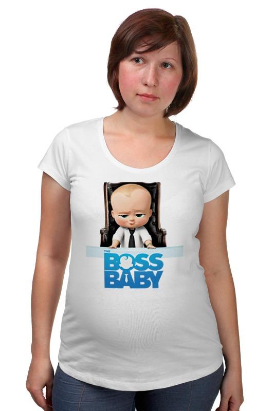 Футболка для беременных Printio Босс-молокосос / the boss baby босс молокосос blu ray 3d