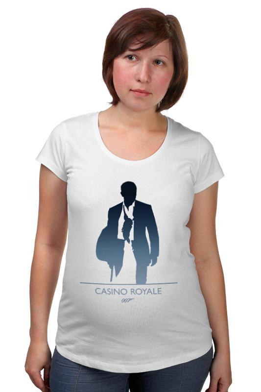 Футболка для беременных Printio 007: казино «рояль» цена