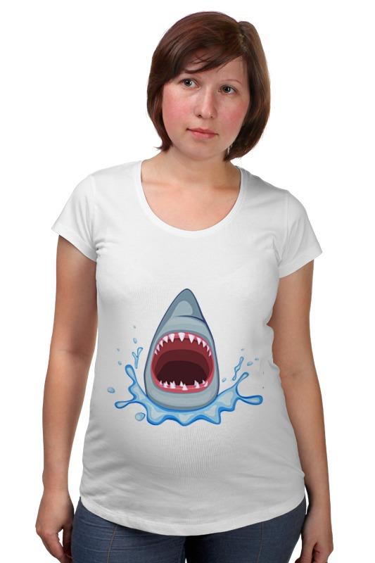 Футболка для беременных Printio Акула футболка рингер printio акула