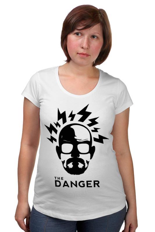 Футболка для беременных Printio Опасный хайзенберг футболка для беременных printio elements of harmony