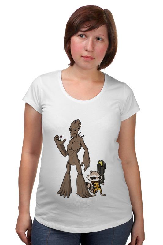 Футболка для беременных Printio Стражи галактики (guardians of the galaxy) футболка для беременных printio season of the witch