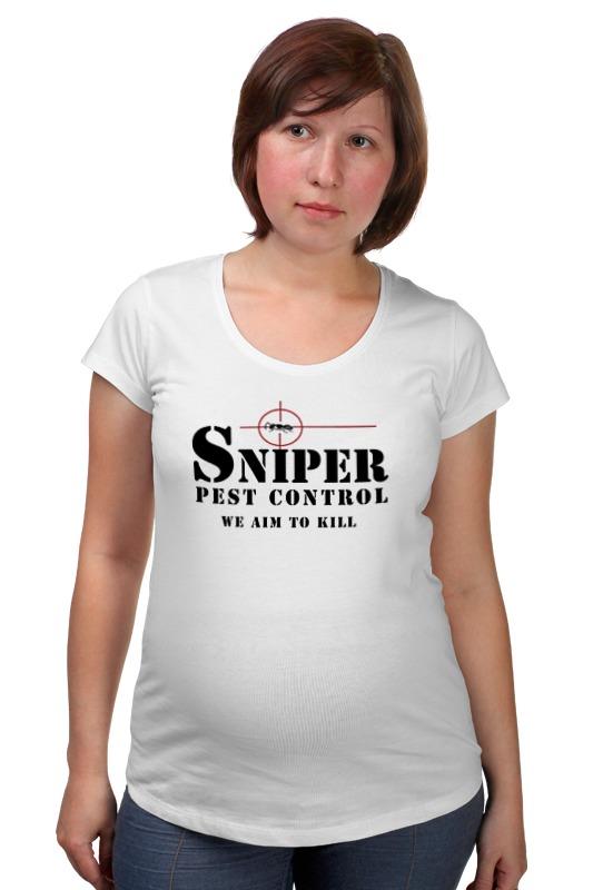 Футболка для беременных Printio Sniper аксессуар катушка marsmd sniper для f2 f4