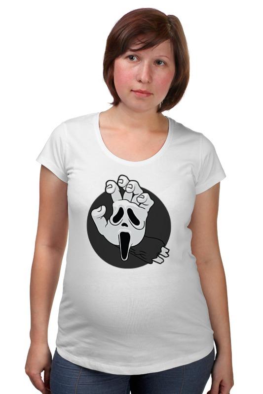 все цены на Футболка для беременных Printio Крик (scream) онлайн
