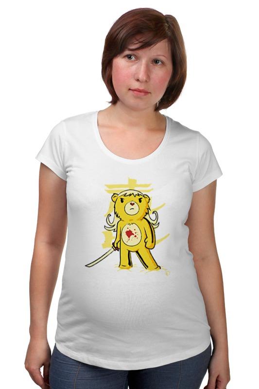 Футболка для беременных Printio Медведь (убить билла) футболка для беременных printio убить билла