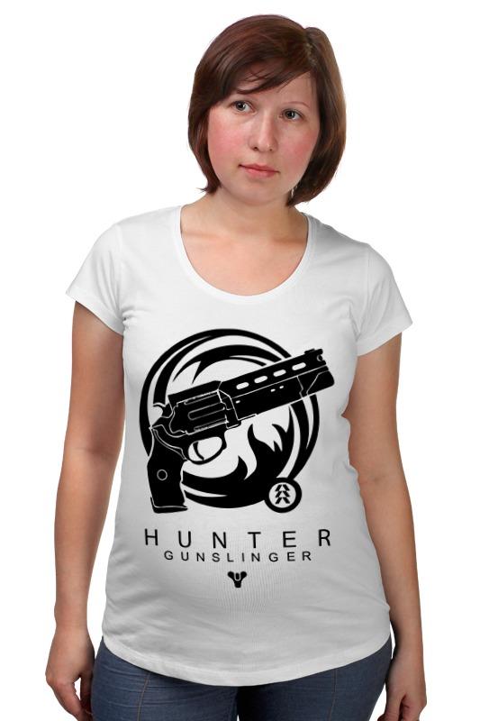 Футболка для беременных Printio Hunter (destiny) футболка для беременных printio hunter s thompson cat
