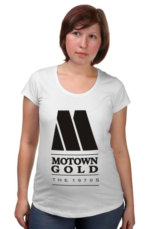 Футболка для беременных Printio Motown
