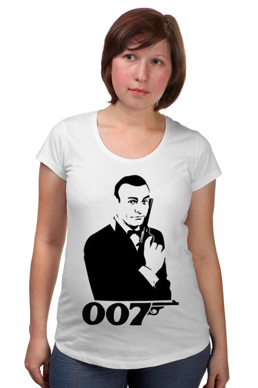 Футболка для беременных Printio James bond футболка для беременных printio россия украина