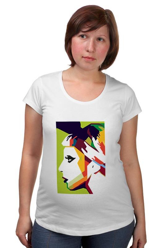 Футболка для беременных Printio Леди гага (lady gaga) футболка для беременных printio property of a lady 007