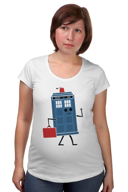 Футболка для беременных Printio Тардис (доктор кто) футболка рингер printio тардис доктор кто