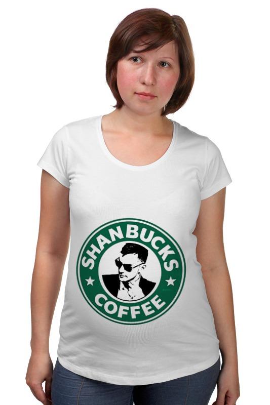 Футболка для беременных Printio Shanbucks coffee валентин дикуль упражнения для позвоночника для тех кто в пути