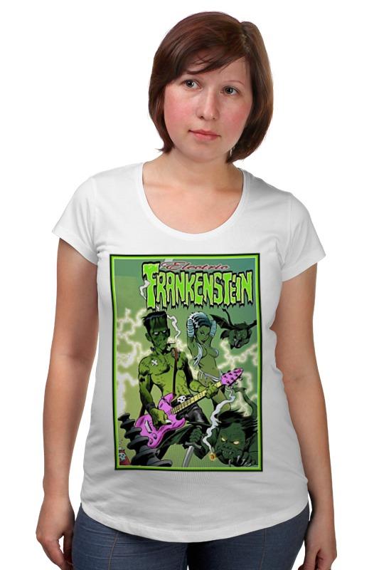 Футболка для беременных Printio Frankenstein rocker frankenstein