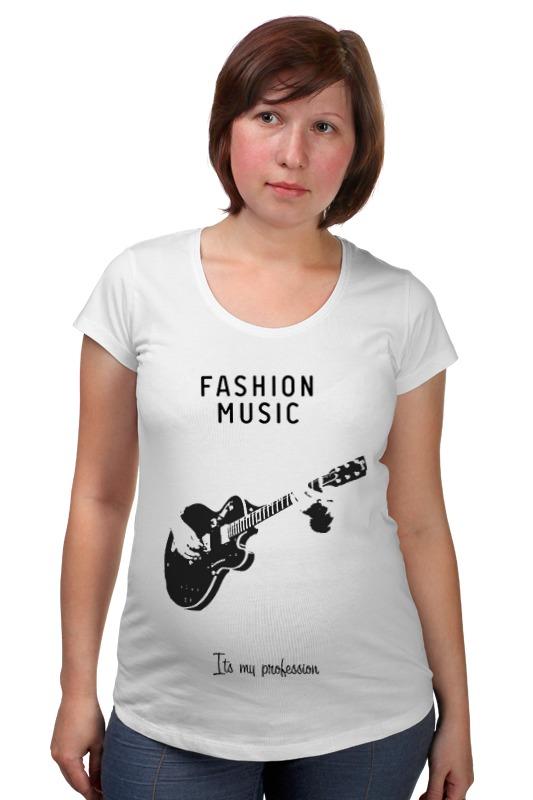 Футболка для беременных Printio Fashion music товары для беременных