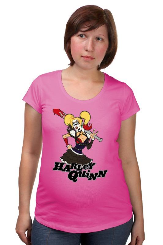 Футболка для беременных Printio Harley quinn товары для беременных