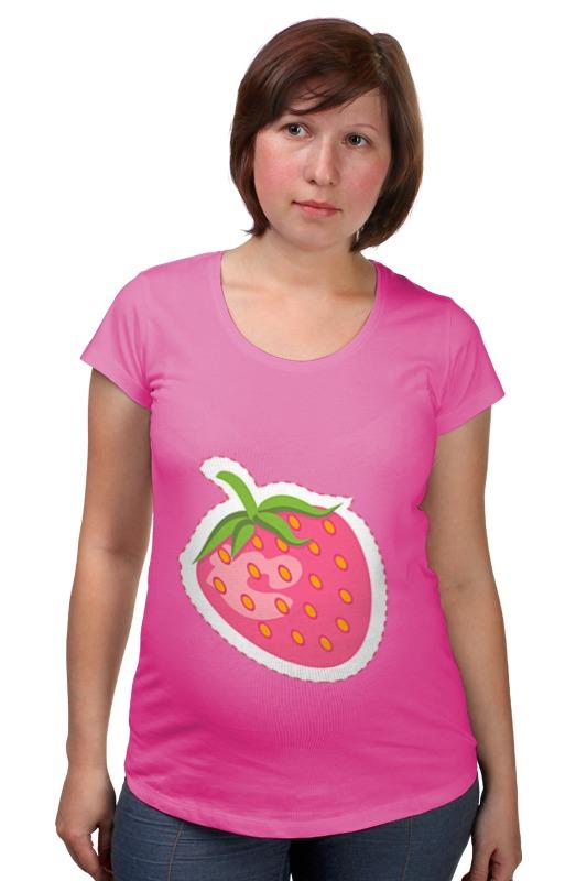 Футболка для беременных Printio Сладкая клубничка футболка для беременных printio сладкая жизнь