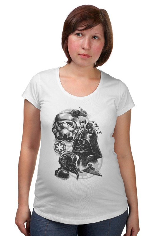 Футболка для беременных Printio Звёздные войны футболка для беременных printio elements of harmony