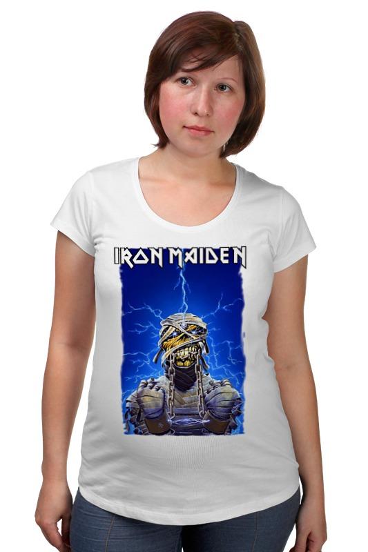 Футболка для беременных Printio Iron maiden band футболка для беременных printio iron maiden