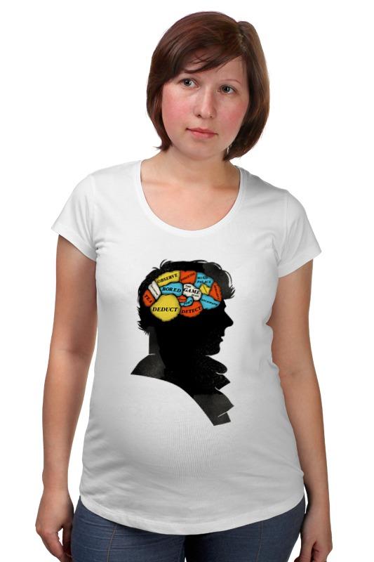 Футболка для беременных Printio Шерлок френология футболка для беременных printio россия украина