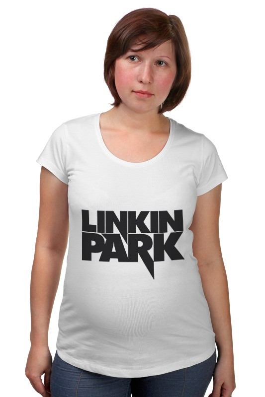 Футболка для беременных Printio Linkin park logo футболка для беременных printio linkin park