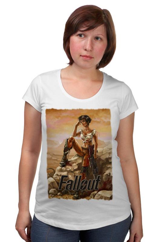 Футболка для беременных Printio Fallout футболка классическая printio fallout фэллаут
