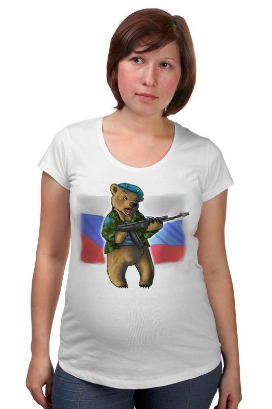Футболка для беременных Printio Russian bear russian phrase book
