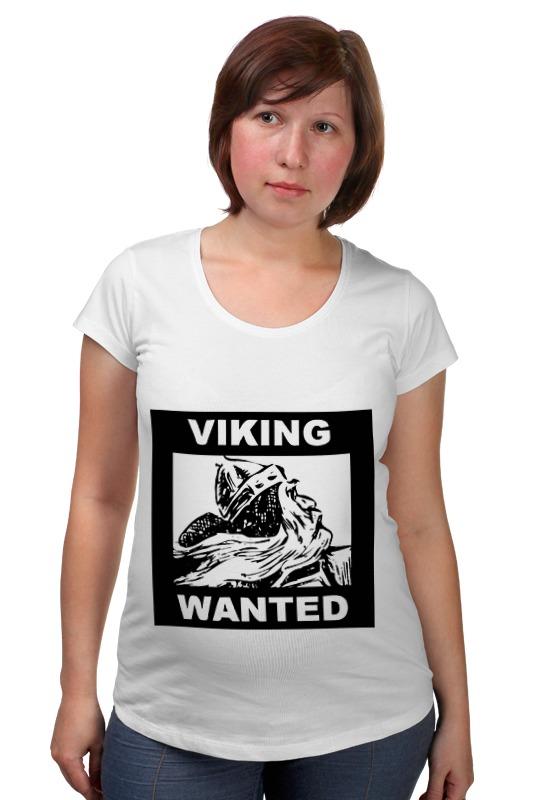 Футболка для беременных Printio Ищем викинга! топор викинга в подарок