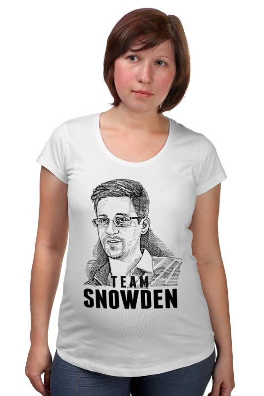 Футболка для беременных Printio Edward snowden футболка для беременных printio россия украина
