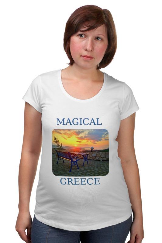 Футболка для беременных Printio Магическая греция белье gezanne шорты магическая волна l
