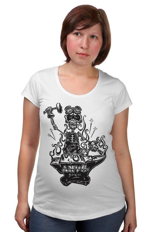 Футболка для беременных Printio Skeleton art футболка для беременных printio psy art arsb