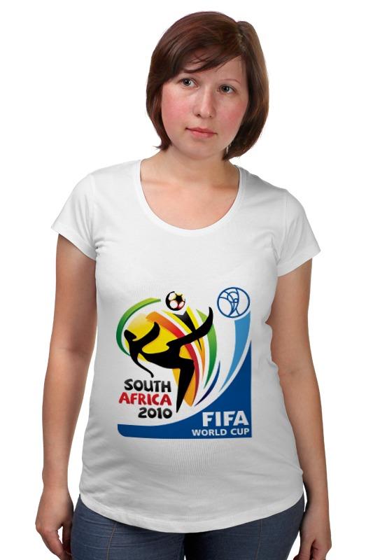 Футболка для беременных Printio Чемпионат мира по футболу 2010