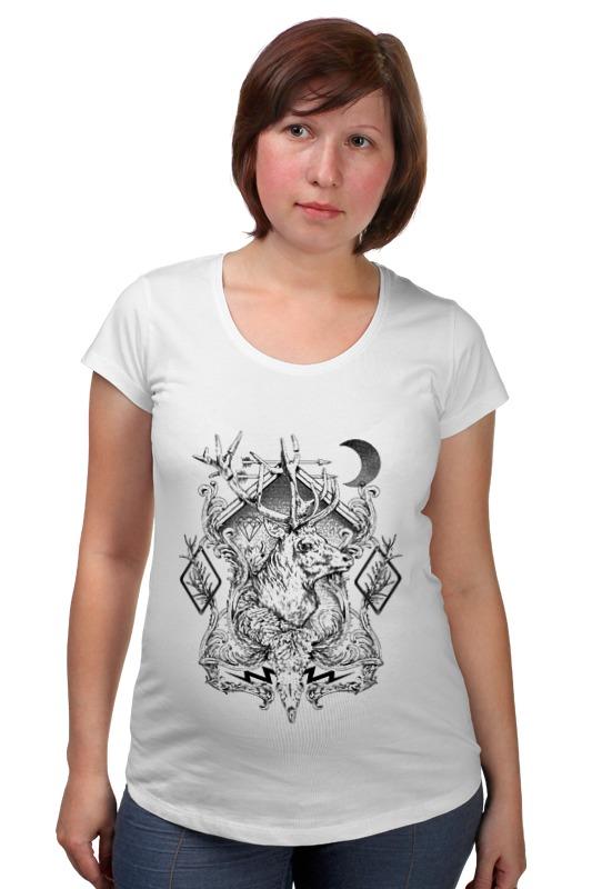 Футболка для беременных Printio Эмблема олень футболка для беременных printio олень тотем
