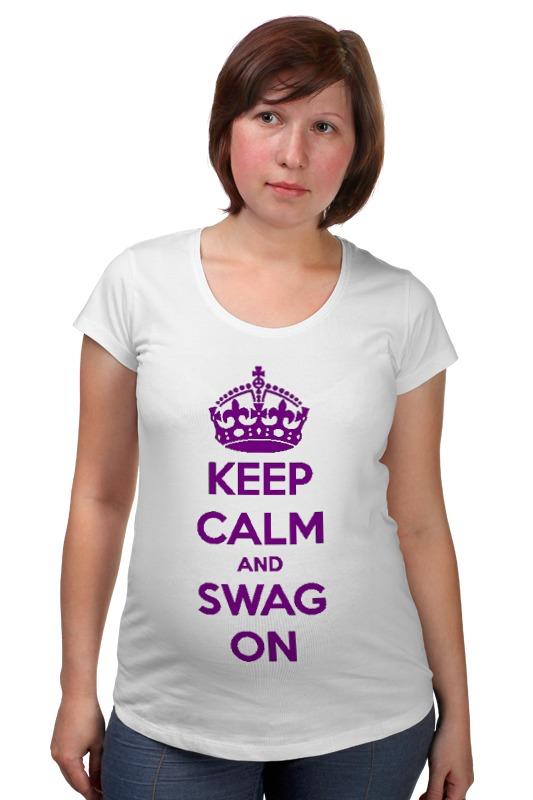 Футболка для беременных Printio Keep calm футболка wearcraft premium printio keep calm